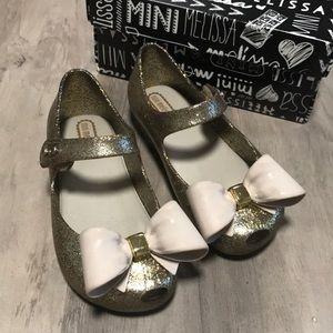 Mini Melissa Sparkly Shoes